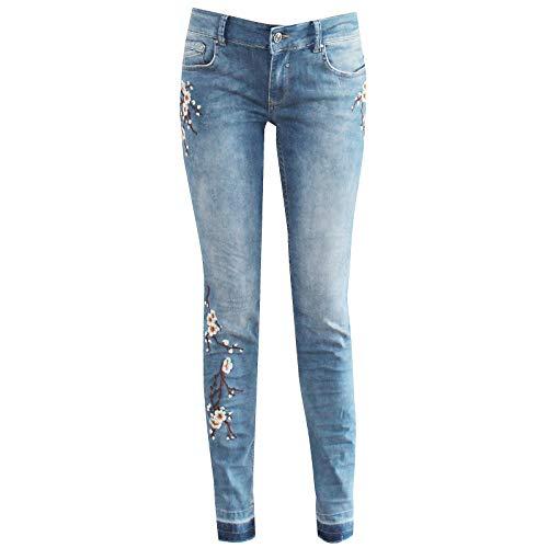 Femme Bleu Coccara Taille Jeans Unique W26 rxodBeWC