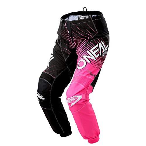 O'Neal Element Racewear Damen MX DH MTB Pant Hose lang schwarz/pink 2018 Oneal: Größe: 3/4 (28)