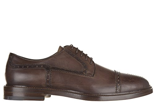 Gucci scarpe stringate classiche uomo in pelle nuove derby marrone EU 44 298772 BLM00 2140