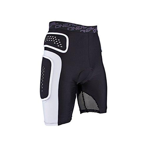 O'Neal Pro Protektoren Hose Schwarz Weiß Mountain Bike Sport Freizeit Shorts, 1286, Größe Large