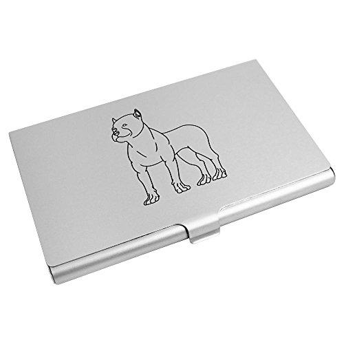 'Rottweiler' Visitenkartenhalter / Kreditkarte Geldbörse (CH00000417) (Rottweiler Geldbörse)