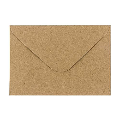 Kraftpapier Umschläge, 100 Stück...