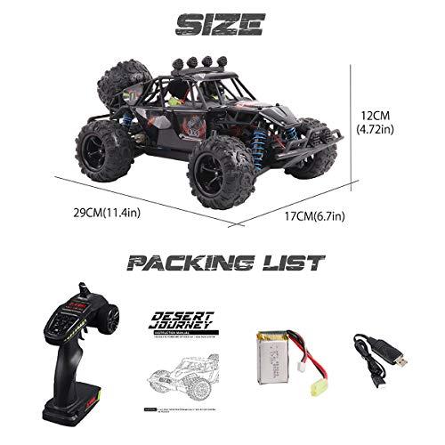 RC Auto kaufen Crawler Bild 6: Maxxrace RC Autos Elektrisches Ferngesteuertes Spielzeugs, Remote Control Crawler Autos mit 4WD, 40Km/h, 2.4G, LED Geländewagen Geschenk für die Kinder / Jugendlichen High-Speed Fahrzeuge*