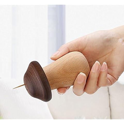 Sun lamps- Simple palillo de madera de setas personalizada caja palillo de dientes en casa latas creativa palillo de dientes