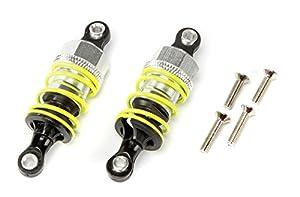 Carson 500530026 - Accesorios de modelización: TT-01 amortiguadores de Aceite de Aluminio, 50 mm, 2 Piezas