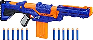 Nerf N-Strike Elite Delta Trooper Combat Blaster with Darts, Ages 8 and Up