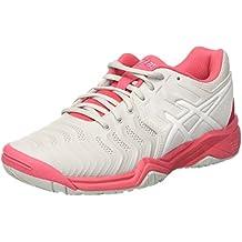 scarpe asics tennis bambino grigio