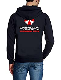 UMBRELLA CORPORATION Zipper Sweatshirt mit Kapuze Hoodie S M L XL 2XL 3XL 4XL 5XL