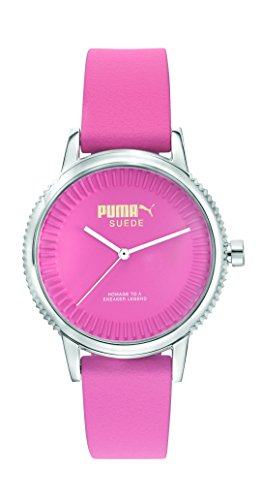 Orologio Donna Quarzo PUMA TIME display Analogico cinturino Silicone Rosa e quadrante Rosa PU104252003