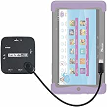 DURAGADGET Lector De Tarjetas + HUB ¡6 en 1! Con Conexión Micro USB Para Cefatronic - Tablet Clan Motion Pro - Con Luz LED