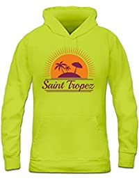 Saint Tropez Women's Hoodie by Shirtcity
