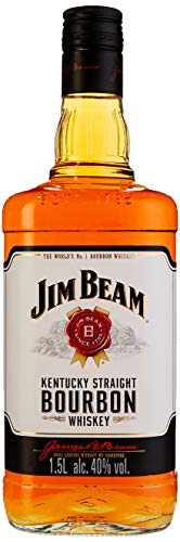 Jim Beam Weiß Kentucky Straight Bourbon Whiskey (1 x 1.5 l)