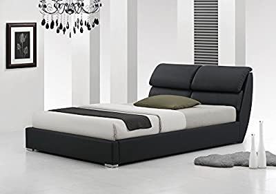 IJ Interiors - LIBRETTO MODERN LEATHER BED No Mattress produced by IJ Interiors - quick delivery from UK.