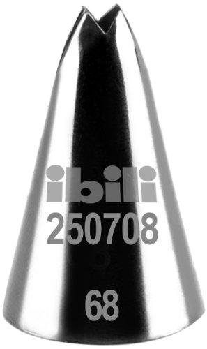 Ibili 250708 Douille de pâtisserie forme de feuilles 8 mm
