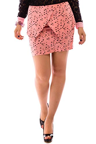 Cave Frauen Kostüm - ÇA VA BIEN FASHION] Damen Mädchen Bleistift Rock A Linie Minirock High Waist Mini Röcke Rock Damen Kurz Mini Maus Rock - Rock A Linie Mini Rock Damen Sexy - Plisseerock Damen A Linie Rock Vintage Grö