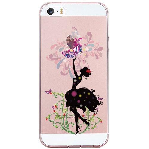 Coque iPhone 7 Plus, TrendyBox PC Hard Cover avec soft TPU Pare-chocs pour iPhone 7 Plus (Happy Halloween) Dansant