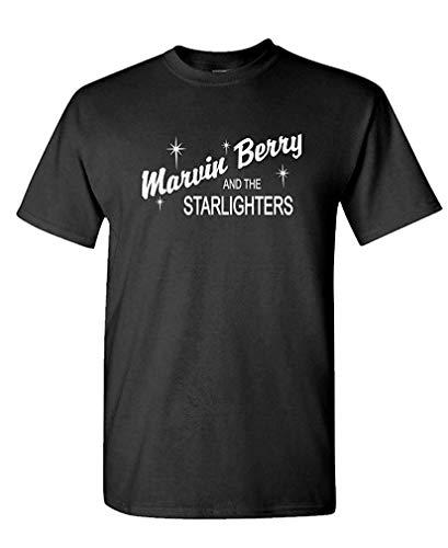 Marvin Berry - Future Movie Novelty - Mens Cotton T-Shirt S (Marvin Kostüm)