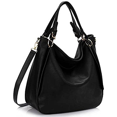 Womens Handbags Ladies Designer Shoulder Bags Faux Leather Fashion Hobo