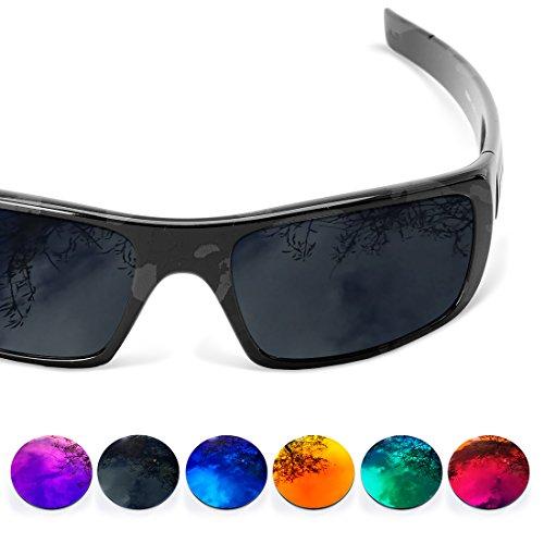 Ersatz-Objektive für Oakley Crankshaft polarisiert Sure (wählen Sie Farbe), schwarz + eis