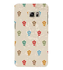 Multicolor Flowers 3D Hard Polycarbonate Designer Back Case Cover for Samsung Galaxy Note 7 : Samsung Galaxy Note 7 N930G : Samsung Galaxy Note 7 Duos