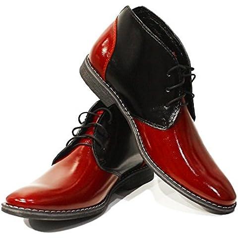 Modello Romolo - colorido hecho a mano Hombre Piel únicos zapatos