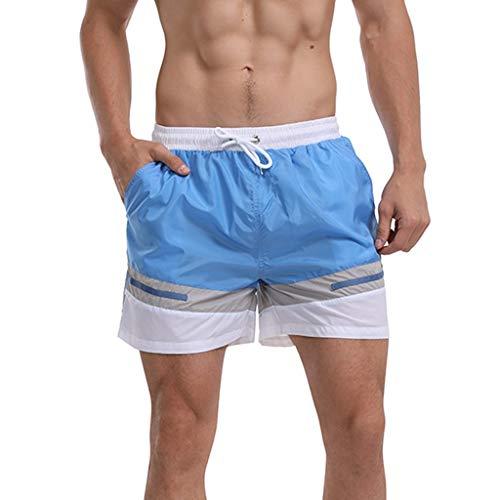 Pantaloni Corti Uomo Estivi, feiXIANG Pantaloncini Uomini Pantaloni Corti da Jogging Hawaii Pantaloncino, Pantaloncini Uomo Jeans Corti