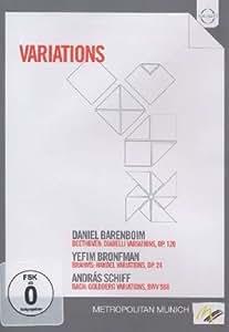 Variations (Diabelli/ Handel/ Goldberg Variations ) [DVD] [2011] [NTSC]