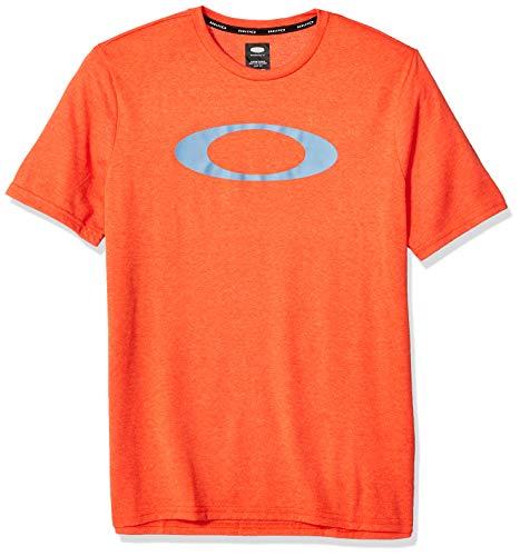 Oakley Mens Herren O-Bold Ellipse Hemd, Ponciana Heather, Mittel