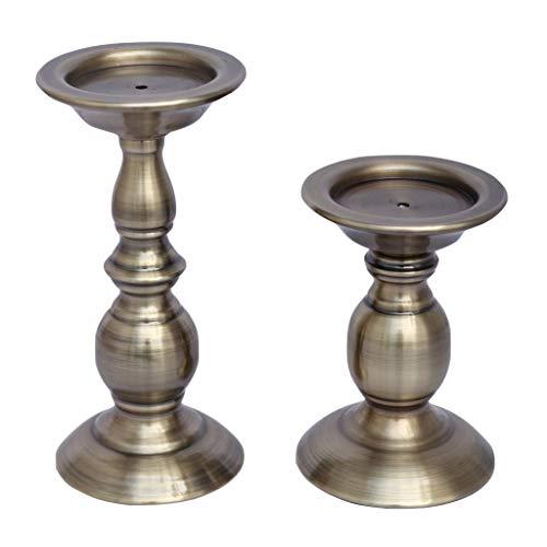 enhalter Kerzenständer für Stabkerzen und Stumpenkerzen ()