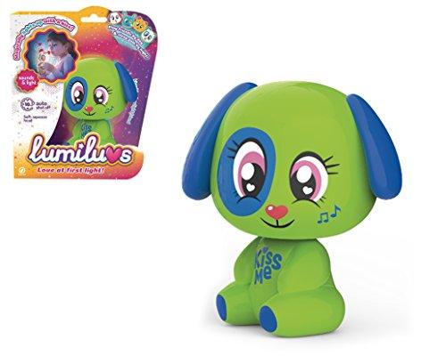 Tigerhead Toys Ltd. Elektronische Haustiere Hund mit Licht und Sounds., grün (59356) (Sammelkarten Hund)