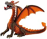 Dragon sitting orange Figurine