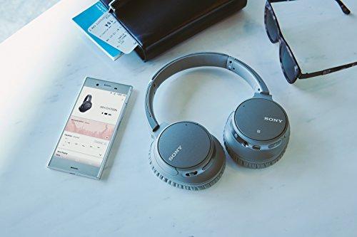 Sony WH-CH700N kabelloser Noise Cancelling Kopfhörer (Bluetooth, bis zu 35 Stunden Akku, Schnelladefunktion, NFC) grau - 7