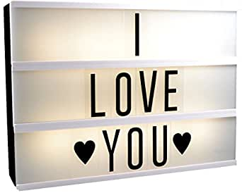 m h 24 light box led leuchtkasten mit buchstaben lightbox. Black Bedroom Furniture Sets. Home Design Ideas