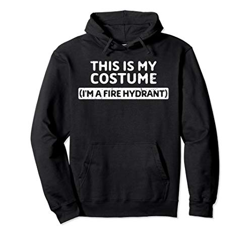 Kind Hydranten Kostüm - I'm A Fire Hydrant Funny Halloween Costume Gift Pullover Hoodie