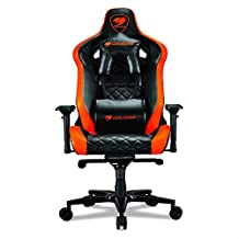 Cougar armor titan gaming chair, orange