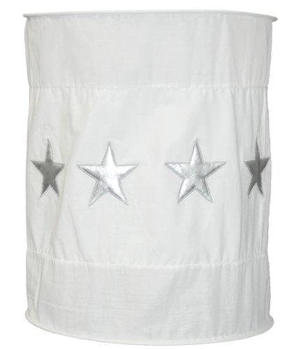 TAFTAN LP-148 Sternen Silber Lampenschirm Stoff, in 3 farben verfügbar -