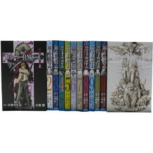 Death Note 1-12 Complete Set [Japanese]