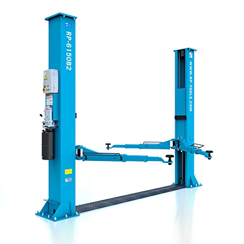 Hebebühne 2-Säulen Kfz Hebebühne Autohebebühne Säulenhebebühne hydraulisch UV 5.0 Tonnen 400V Höhe: 2.85m