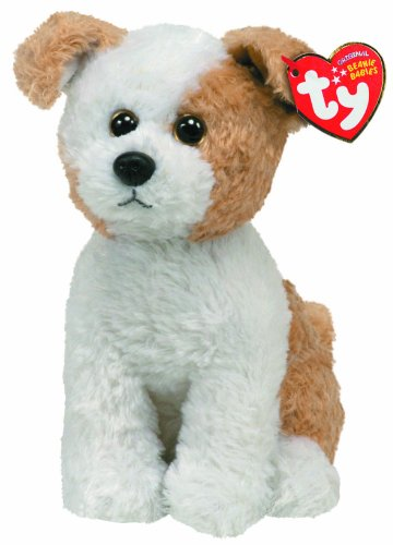 TY 7140877 - Hund weiß-braun,Corky 20 cm