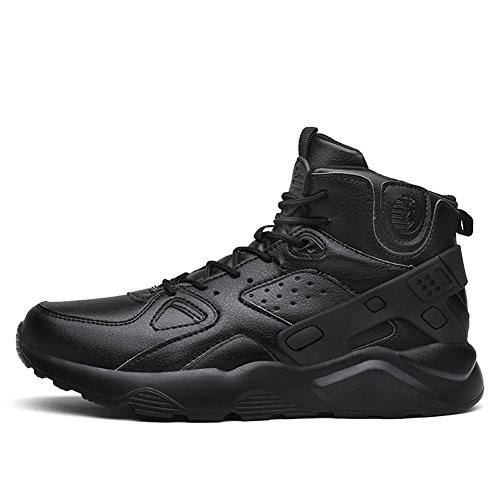 Fexkean Homme Chaussures de Sport Multisports Baskets Mode Sneakers Hautes Outdoor Fitness Gym Running Shoes