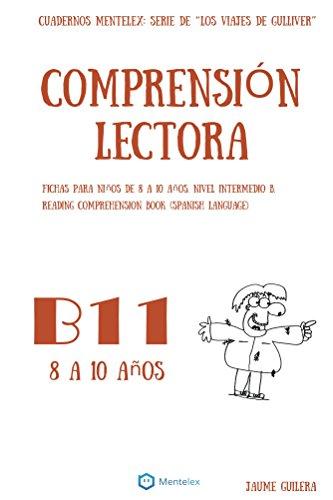 Cuadernos de comprensión lectora para niños de 8 a 10 años.: Nivel ...