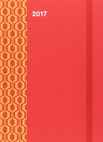 2017 Red Diary - teNeues Cool Diary - Weekly 16 x 22 cm por teNeues