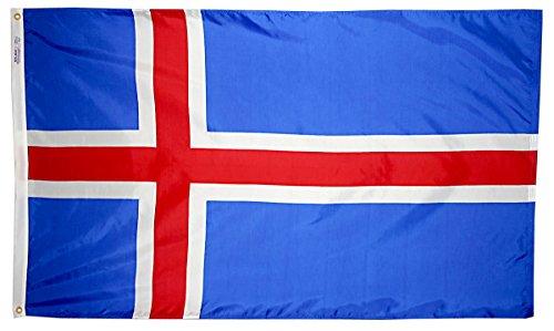 Annin Flagmakers Nylon SolarGuard NYL-Glo Flagge Island 3x5' Nicht zutreffend - Nyl Banner