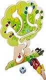 HABA 303821 - Motorikspiel Obstgarten | Motorikspielzeug basierend auf dem beliebten HABA-Spieleklassiker Obstgarten | Holzspielzeug ab 18 Monaten