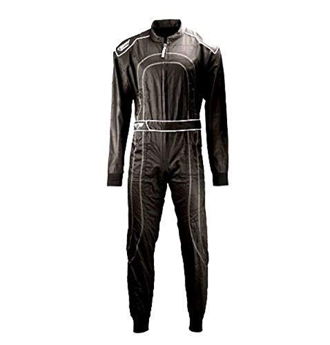 Speed Kartoverall Schwarz - Daytona Modell 2018 - Karting Suit (L)