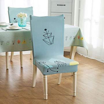 ZTDE Butterfly Printing Dining Stuhlabdeckung Spandex Elastische Stuhl Protector Schutzhülle Abnehmbare Staubdicht Dekorative Sitzhülle 11 universal