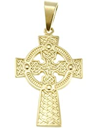 Croix celtique en Or 9ct Avec boîte de présentation