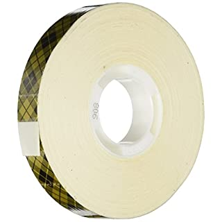 3M 0.5-inch x 36 yd Scotch ATG Gold Transfer Tape for Use in ATG700, Transparent