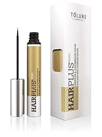 Tolure Cosmetics Hairplus Zero, Wimpern- und Augenbrauen Serum, 3 ml