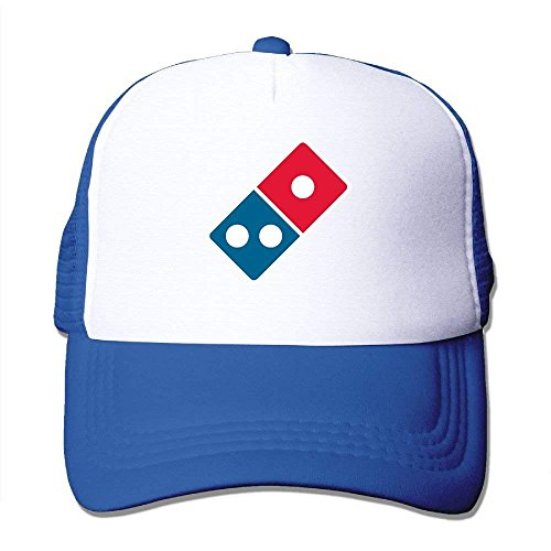 WPLON Personality Caps Hats Dominos Pizza Logo Mesh -